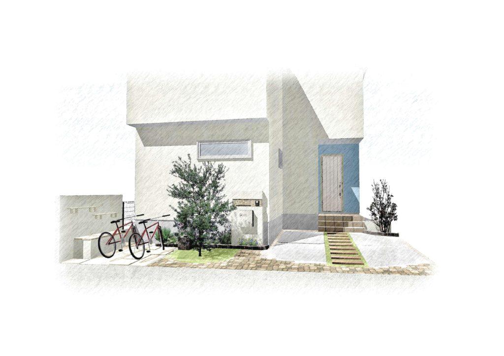 ランタン Lantern フェンス フェンスデザイン 外構 エクステリア エクステリアデザイン 町田市 成瀬