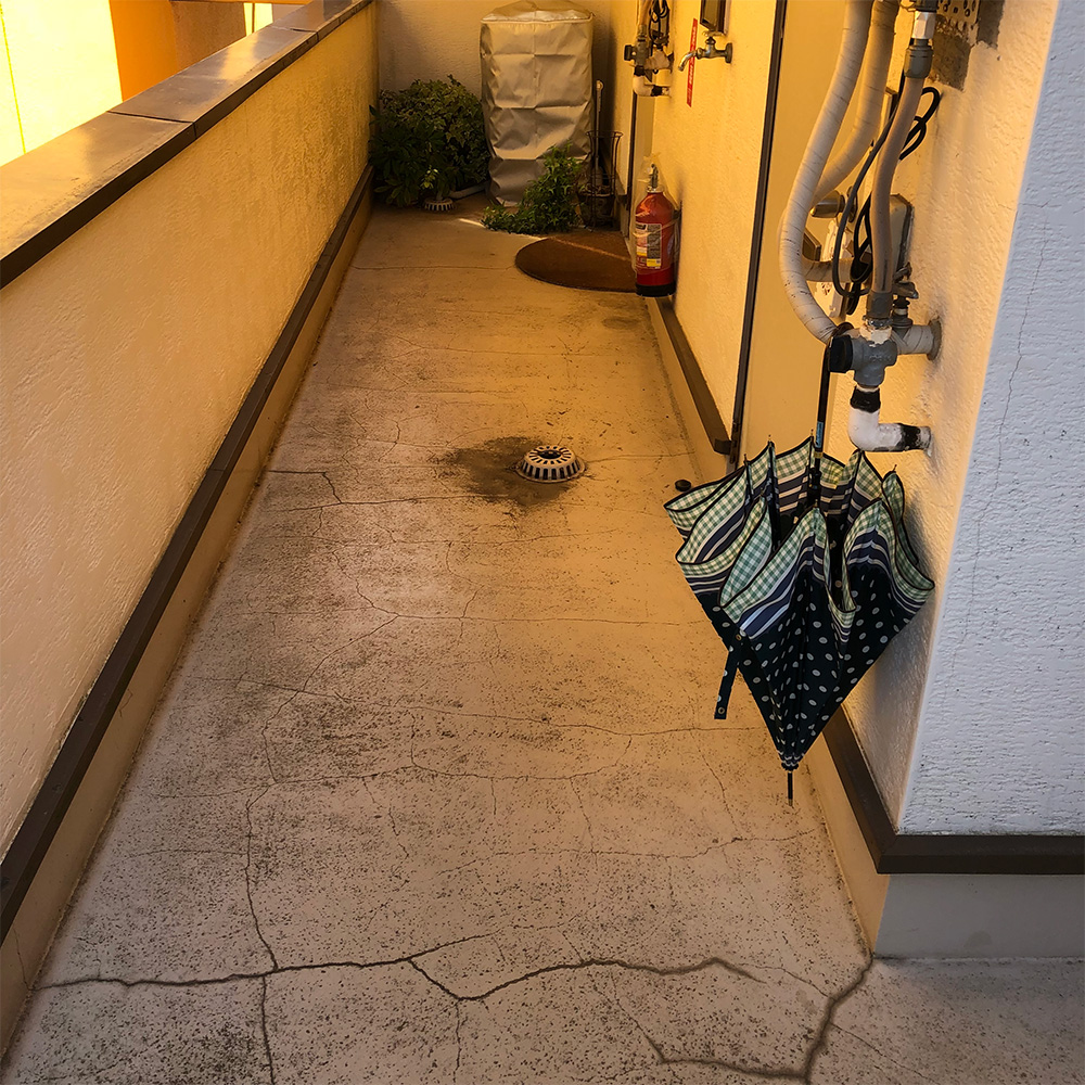 施工前 工事前の家 外構工事 エクステリア 施工 工事 Lantern ランタン 東京町田市 成瀬